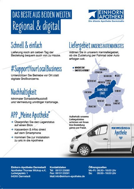 Flyer Botendienst